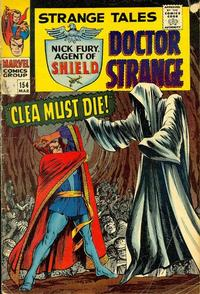 Cover Thumbnail for Strange Tales (Marvel, 1951 series) #154 [Regular Edition]