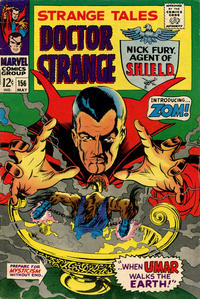 Cover for Strange Tales (Marvel, 1951 series) #156 [Regular Edition]
