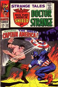 Cover Thumbnail for Strange Tales (Marvel, 1951 series) #159 [Regular Edition]