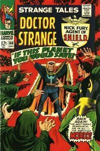 Cover Thumbnail for Strange Tales (Marvel, 1951 series) #160 [Regular Edition]
