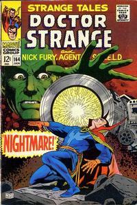 Cover for Strange Tales (Marvel, 1951 series) #164