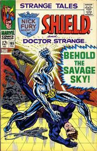 Cover Thumbnail for Strange Tales (Marvel, 1951 series) #165