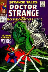 Cover Thumbnail for Strange Tales (Marvel, 1951 series) #166