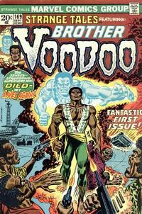 Cover Thumbnail for Strange Tales (Marvel, 1973 series) #169