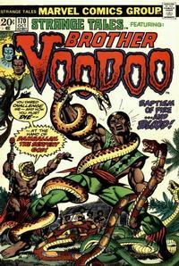 Cover Thumbnail for Strange Tales (Marvel, 1973 series) #170