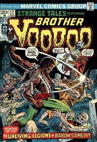 Cover Thumbnail for Strange Tales (Marvel, 1973 series) #171