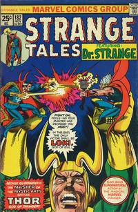 Cover Thumbnail for Strange Tales (Marvel, 1973 series) #182 [Regular Edition]