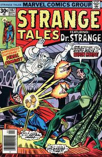 Cover Thumbnail for Strange Tales (Marvel, 1973 series) #187
