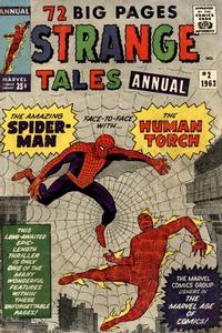 Cover Thumbnail for Strange Tales Annual (Marvel, 1962 series) #2