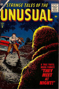 Cover Thumbnail for Strange Tales of the Unusual (Marvel, 1955 series) #9