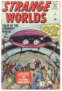 Cover Thumbnail for Strange Worlds (Marvel, 1958 series) #1