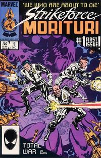 Cover Thumbnail for Strikeforce: Morituri (Marvel, 1986 series) #1 [Direct]