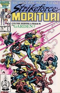 Cover Thumbnail for Strikeforce: Morituri (Marvel, 1986 series) #2 [Direct]