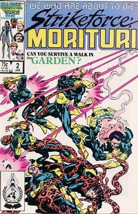 Cover Thumbnail for Strikeforce: Morituri (Marvel, 1986 series) #2 [Direct Edition]