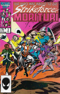 Cover Thumbnail for Strikeforce: Morituri (Marvel, 1986 series) #3 [Direct Edition]