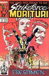 Cover Thumbnail for Strikeforce: Morituri (Marvel, 1986 series) #8