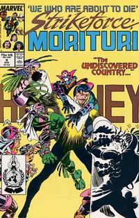 Cover Thumbnail for Strikeforce: Morituri (Marvel, 1986 series) #9 [Direct]