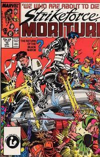 Cover Thumbnail for Strikeforce: Morituri (Marvel, 1986 series) #10