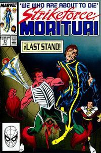 Cover Thumbnail for Strikeforce: Morituri (Marvel, 1986 series) #31