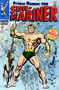 Cover Thumbnail for Sub-Mariner (Marvel, 1968 series) #1