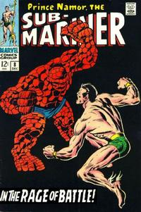 Cover Thumbnail for Sub-Mariner (Marvel, 1968 series) #8