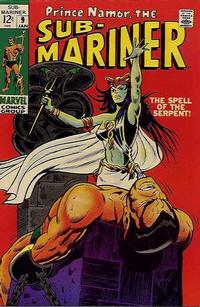 Cover Thumbnail for Sub-Mariner (Marvel, 1968 series) #9
