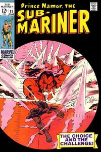 Cover Thumbnail for Sub-Mariner (Marvel, 1968 series) #11
