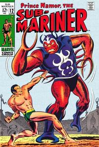 Cover Thumbnail for Sub-Mariner (Marvel, 1968 series) #12