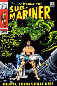 Cover Thumbnail for Sub-Mariner (Marvel, 1968 series) #13 [Regular Edition]