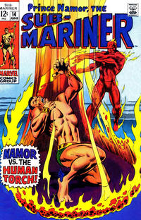 Cover Thumbnail for Sub-Mariner (Marvel, 1968 series) #14