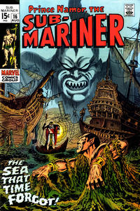 Cover Thumbnail for Sub-Mariner (Marvel, 1968 series) #16