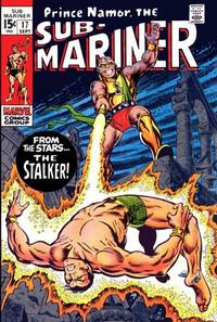 Cover Thumbnail for Sub-Mariner (Marvel, 1968 series) #17 [Regular Edition]
