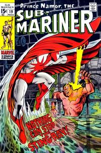 Cover Thumbnail for Sub-Mariner (Marvel, 1968 series) #19