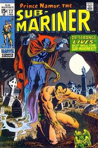 Cover Thumbnail for Sub-Mariner (Marvel, 1968 series) #22