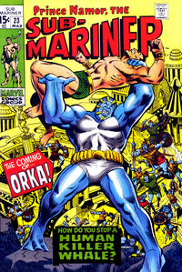 Cover Thumbnail for Sub-Mariner (Marvel, 1968 series) #23