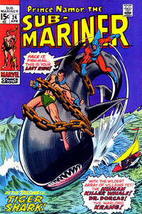 Cover Thumbnail for Sub-Mariner (Marvel, 1968 series) #24