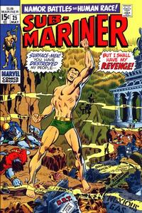 Cover Thumbnail for Sub-Mariner (Marvel, 1968 series) #25