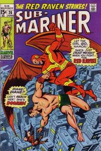 Cover Thumbnail for Sub-Mariner (Marvel, 1968 series) #26