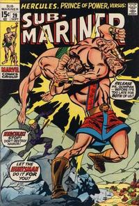 Cover Thumbnail for Sub-Mariner (Marvel, 1968 series) #29 [Regular Edition]