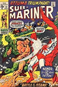 Cover Thumbnail for Sub-Mariner (Marvel, 1968 series) #31 [Regular Edition]