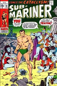 Cover Thumbnail for Sub-Mariner (Marvel, 1968 series) #33