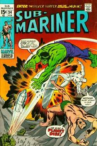 Cover Thumbnail for Sub-Mariner (Marvel, 1968 series) #34