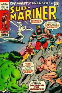 Cover Thumbnail for Sub-Mariner (Marvel, 1968 series) #35