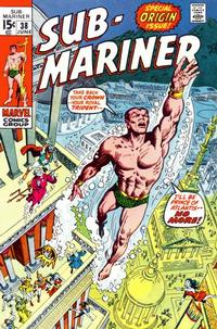 Cover Thumbnail for Sub-Mariner (Marvel, 1968 series) #38