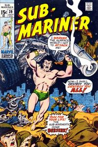 Cover Thumbnail for Sub-Mariner (Marvel, 1968 series) #39