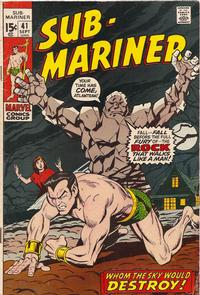 Cover Thumbnail for Sub-Mariner (Marvel, 1968 series) #41