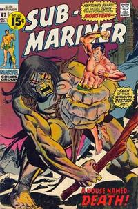 Cover Thumbnail for Sub-Mariner (Marvel, 1968 series) #42