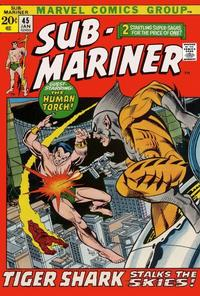 Cover Thumbnail for Sub-Mariner (Marvel, 1968 series) #45 [Regular Edition]