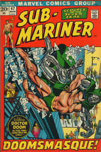 Cover Thumbnail for Sub-Mariner (Marvel, 1968 series) #47