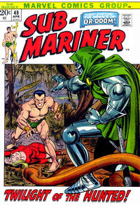 Cover Thumbnail for Sub-Mariner (Marvel, 1968 series) #48